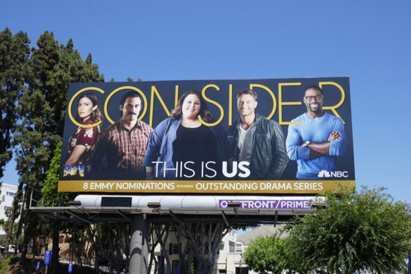 Consider This Is Us 2018 Emmy nominee billboard