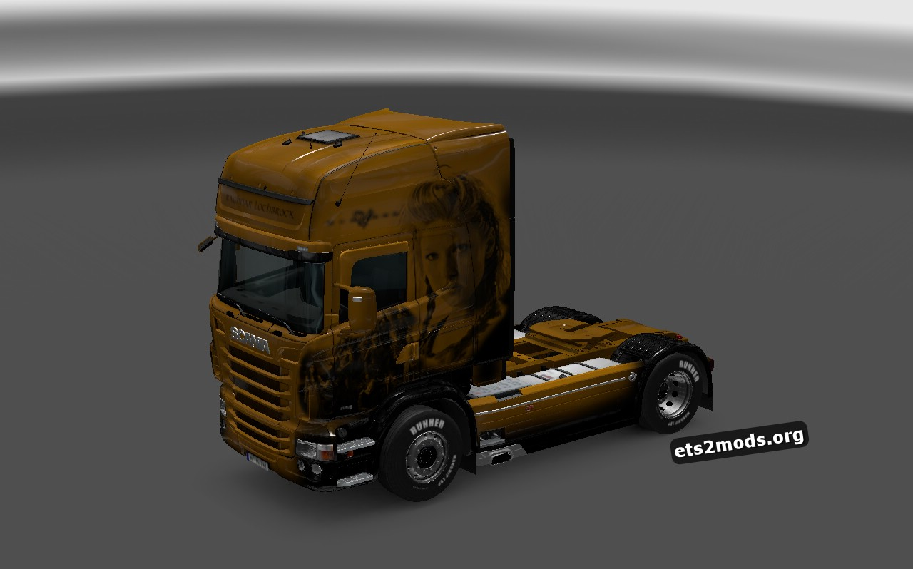 Raghnar Lothbrock Skin for Scania RJL
