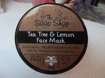 Hlboko čistiaci pleťová maska Tea Tree & Citrón
