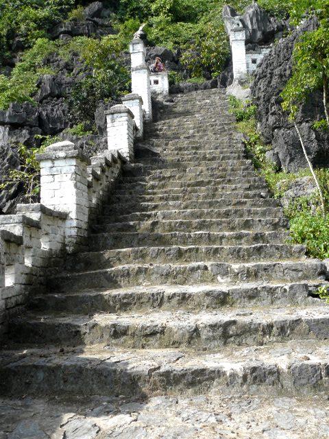 Escalones Muan Hang Vietnam