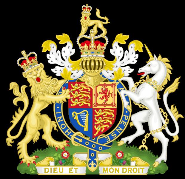 Lambang negara Britania Raya