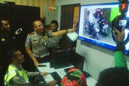 Ujicoba Tilang Sistem Elektronic Traffic Law Enforcement (ETLE) di Klaten