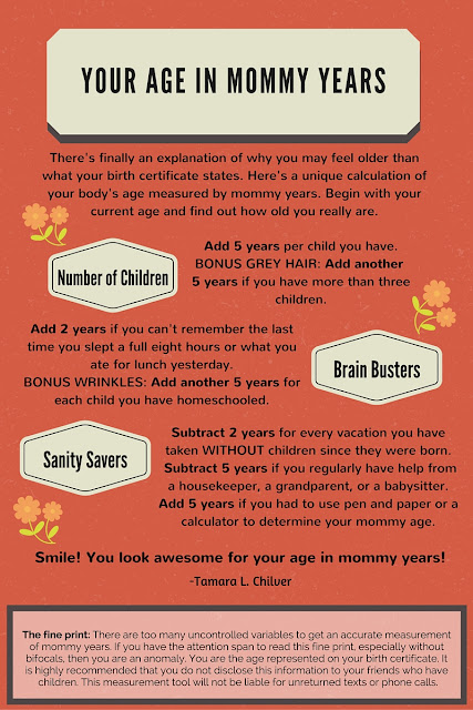 calculate your mommy age