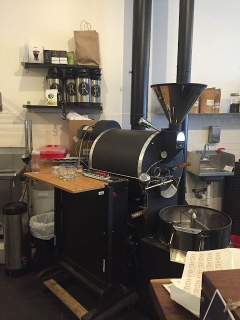 Coffee roasting right in Rockford at Rockford Roasting Company