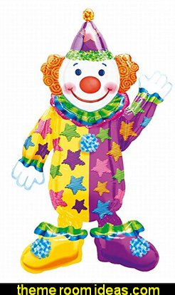 "Happy Clown 44"" Airwalker Balloon"