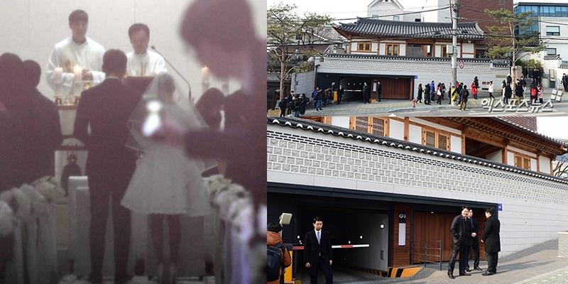 Những khoảnh khắc đầu tiên trong đám cưới Kim Tae Hee - Bi Rain