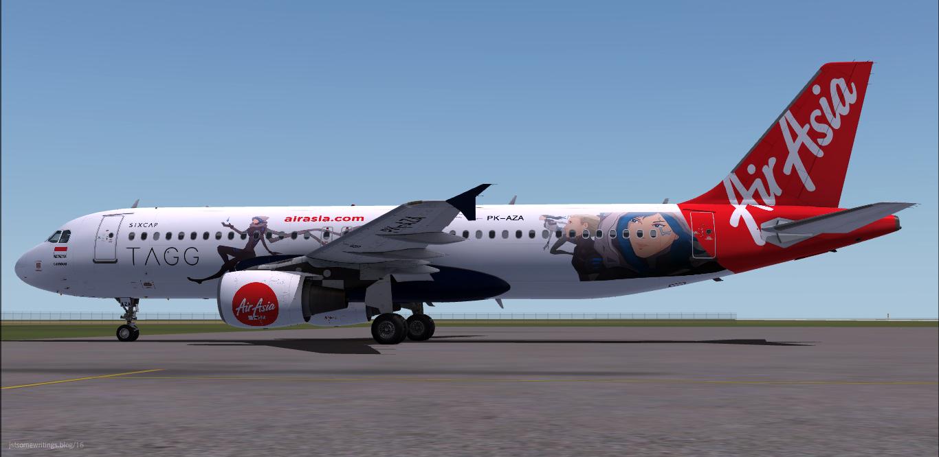 Airbus A320-214 / Indonesia AirAsia / PK-AZA