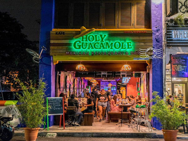 Holy Guacamole @ Love Lane, Georgetown, Penang