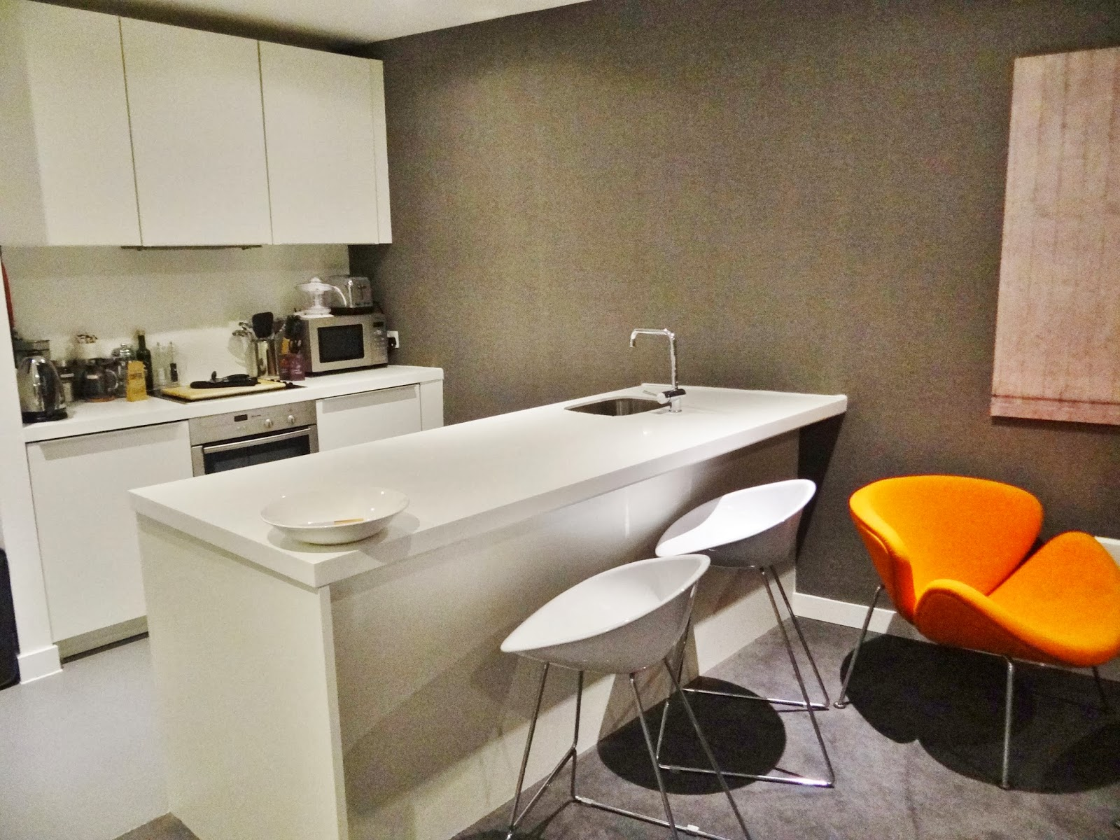 birmingham city base apartments kitchen