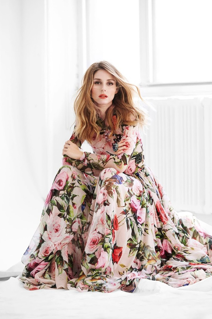 dolce and gabbana dress olivia palermo by cool chic style fashion