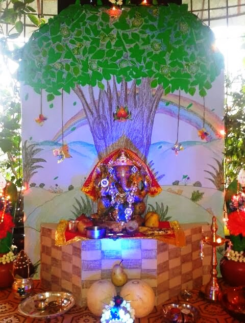 Ganesh  Chaturthi  decoration  ideas  Whatsapp Messages