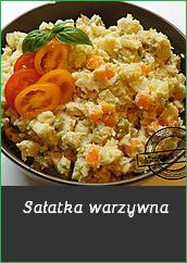 Sałatka warzywna szałot popularna sałatka śląska kuchnia tradycyjna sałatki na przyjęcie proste i szybkie mechanik w kuchni ziemniaki groszek ogórek marchew pietruszka majonez sałatka jarzynowa