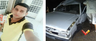 Funcionário de empresa de internet morre em acidente de veículo na PB