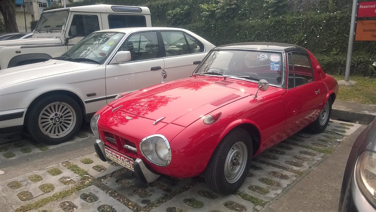 Singapore Vintage and Classic Cars: More than an old car #4 : Toyota ...