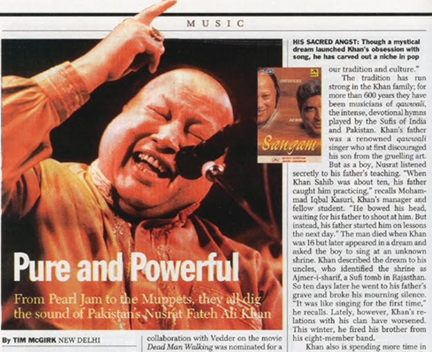 Nusrat Fateh Ali Khan: The singing Buddha