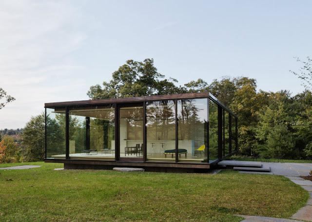 แบบบ้านชั้นเดียว Box Glass