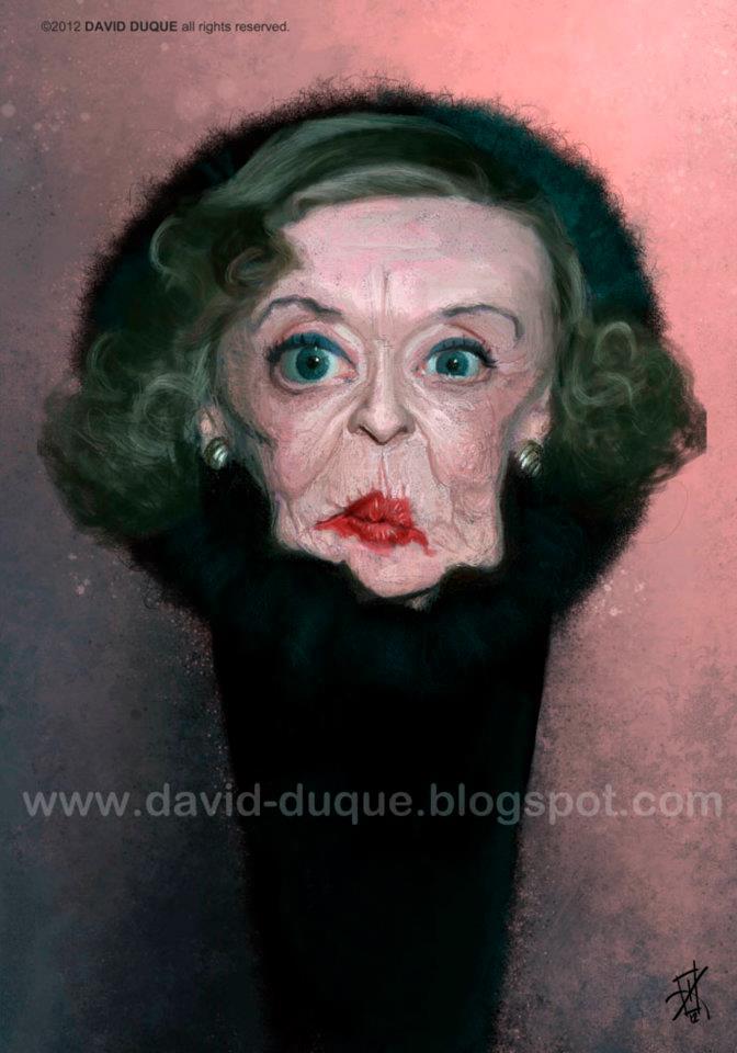 Bette Davis por David Duque