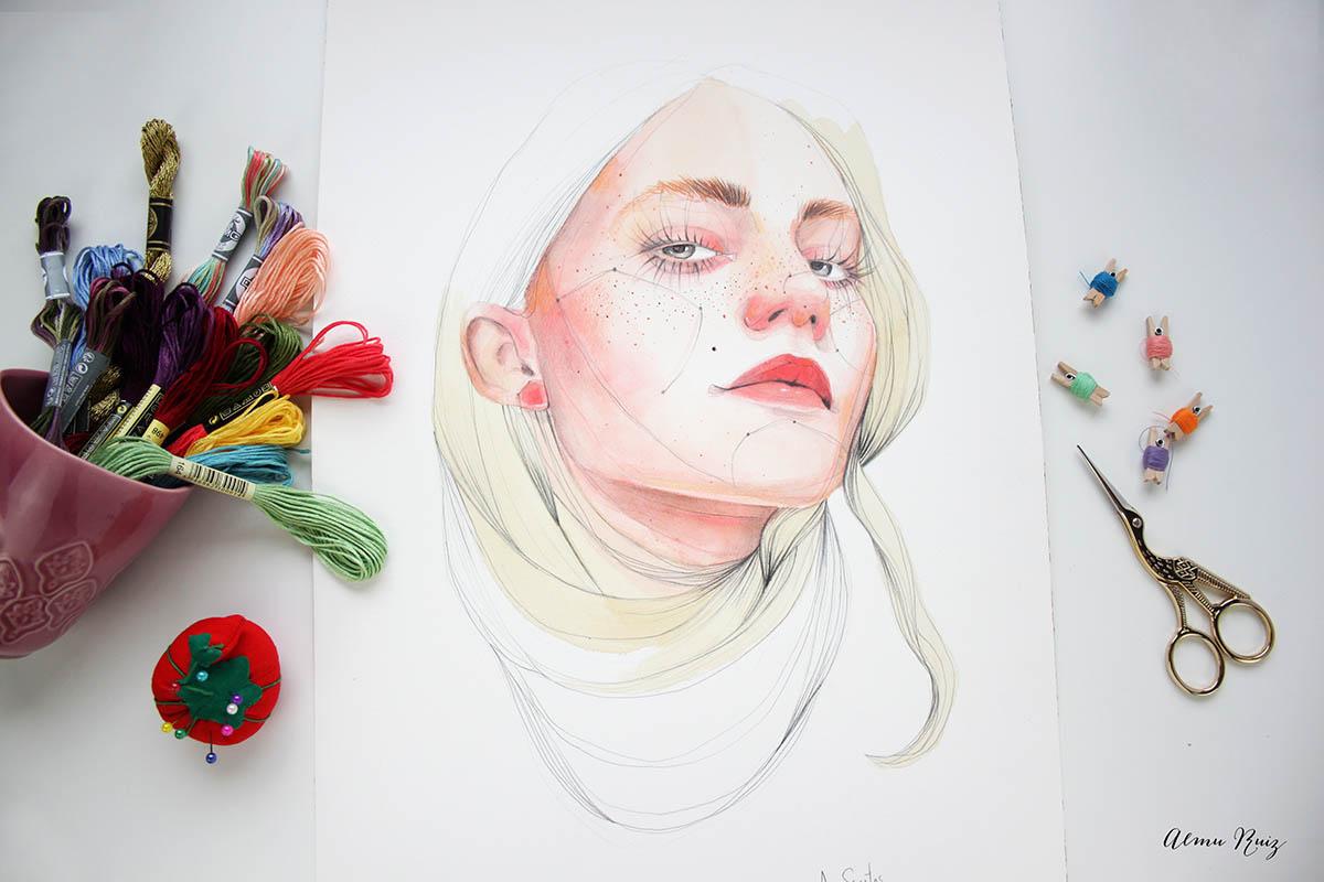 Ilustración Ana Santos