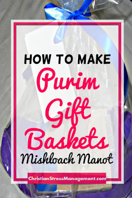 How to make Purim Holiday Gift Baskets Mishloach Manot