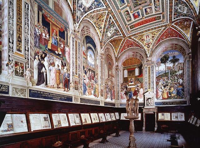 Biblioteca Piccolomini em Siena