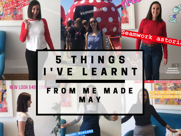 5 things I've learnt from Me Made May