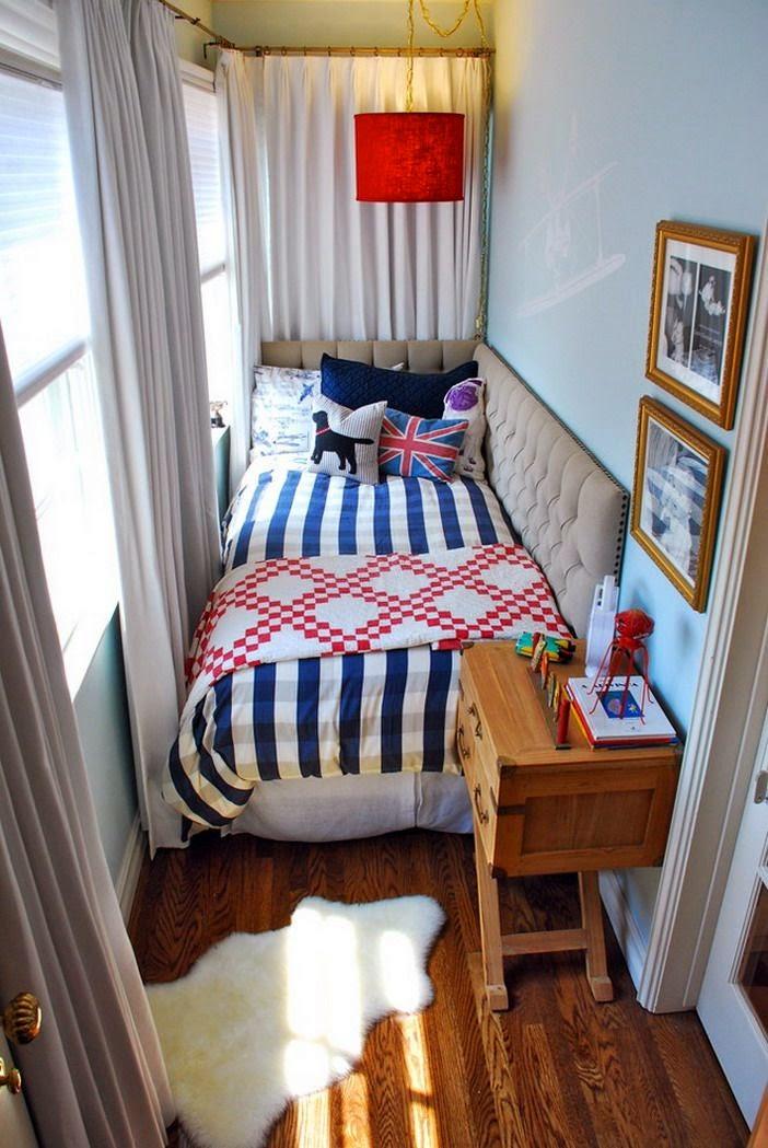 decoración de dormitorios pequeños modernos
