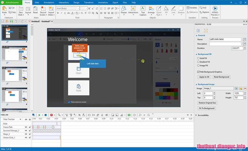 ActivePresenter Professional 7.2.5 Full Crack – Phần mềm quay video màn hình tốt nhất