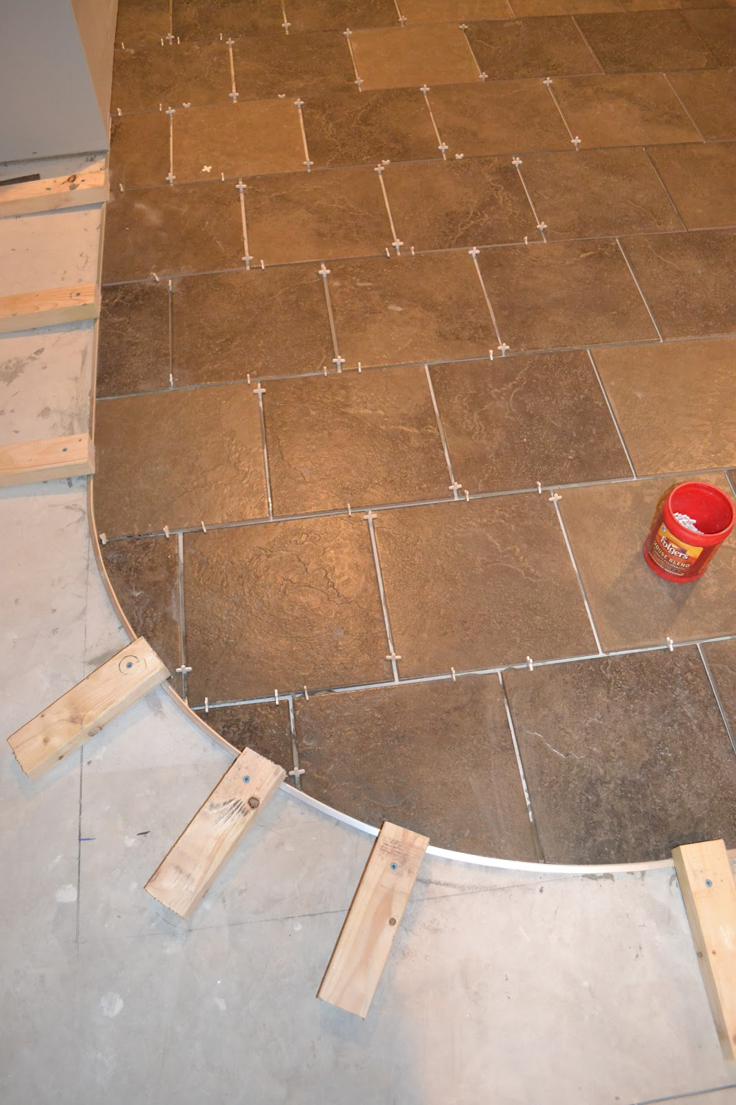 Curved Tile Carpet Transition | www allaboutyouth net