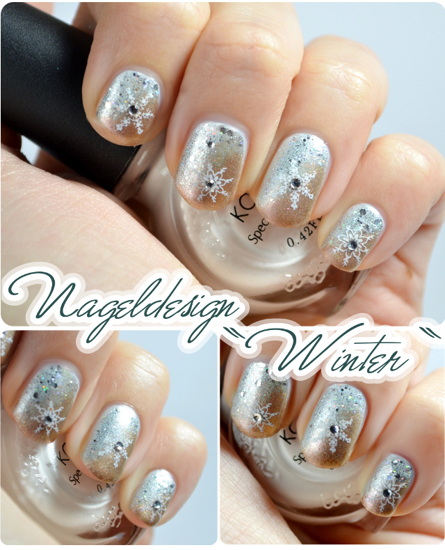 Nageldesign-Challenge 2013 - Nageldesign zum Thema Winter