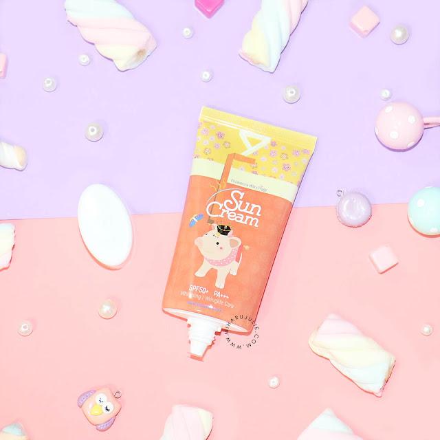 review Elizavecca Milky Piggy Sun Cream SPF50