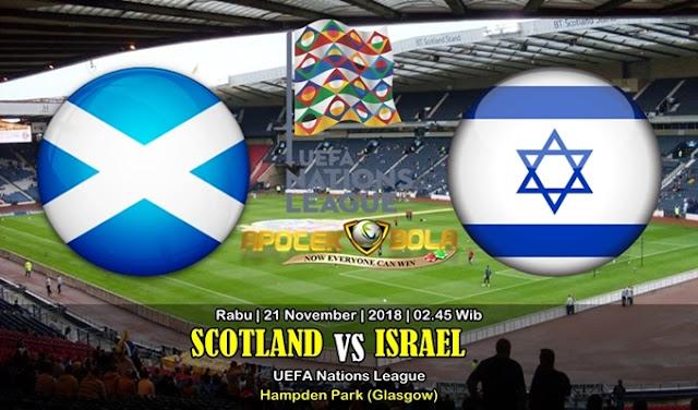 Prediksi Scotland Vs Israel 21 November 2018