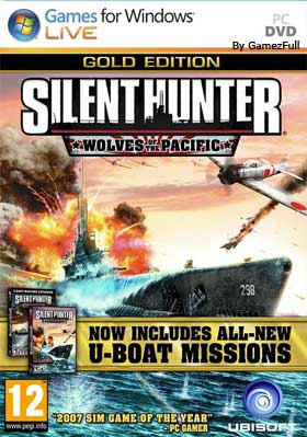 Silent Hunter 4 Wolves of the Pacific Gold [Full] Español [MEGA]
