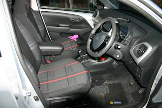 automatic with fabric seats