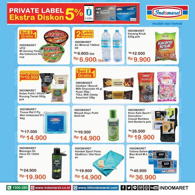 #Indomaret - #Promo #Katalog Ekstra Diskon 5% Pakai Isaku dll (s.d 16 April 2019)