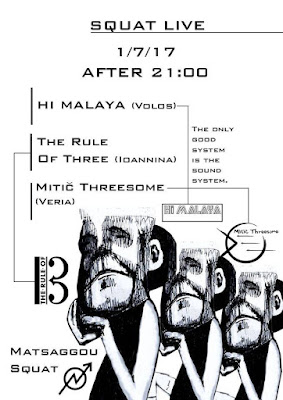 Hi Malaya, The Rule of Three, Mitič Threesome LIVE Matsaggou
