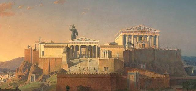 Αργότερα κατασκεύασε τη χάλκινη Αθηνά Προμάχο που ήταν ανάθημα της Αθήνας  στην Ακρόπολη από τα λάφυρα της νίκης. Το άγαλμα είχε ύψος 8-9 μέτρα και  όπως ... 3bf623d2227