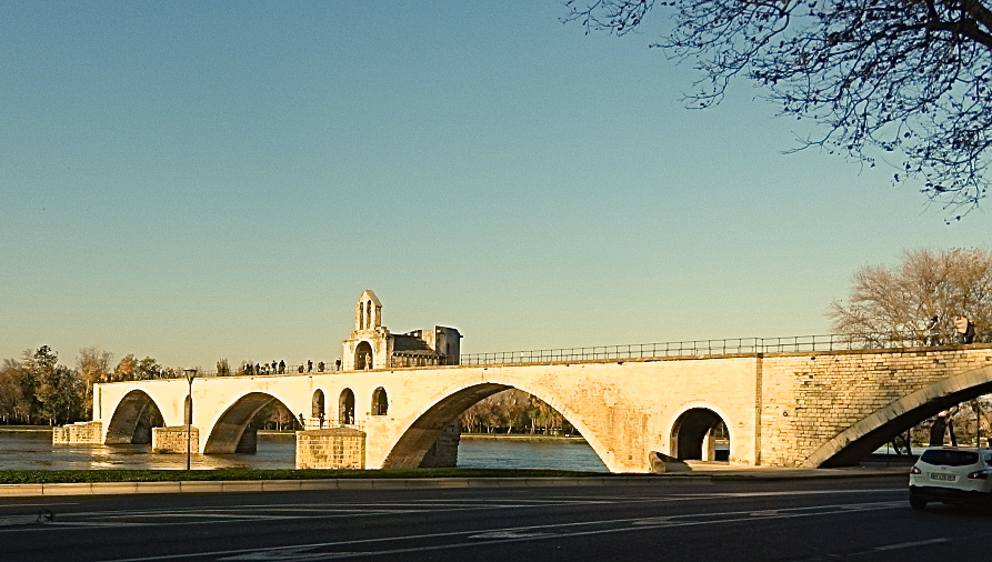Postcards From Paris Sur Le Pont D Avignon