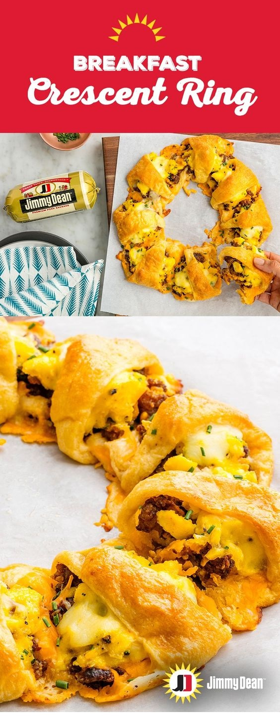 Breakfast Crescent Ring