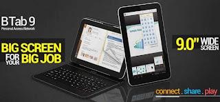 Spesifikasi dan Harga Tablet Beyond B Tab 9 Terbaru 2013