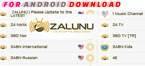 FOR ANDROID DOWNLOAD: Android ZalunuLive Apk - LiveTV Update Android
