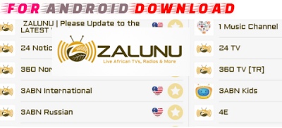 Download Android ZalunuLive Apk For Android - Over 500 Live Channel on Android