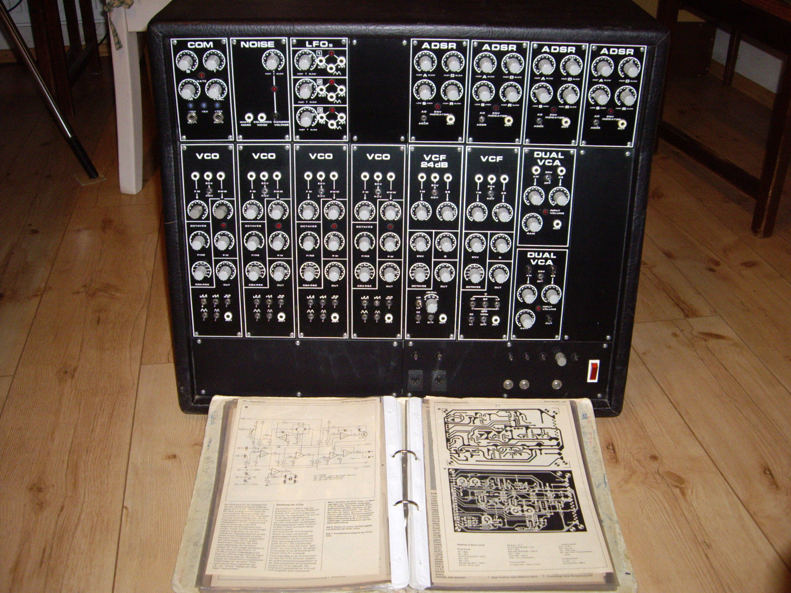 Matrixsynth Elektor Formant Vintage Modular Synthesizer Synth Schematics Vco 3