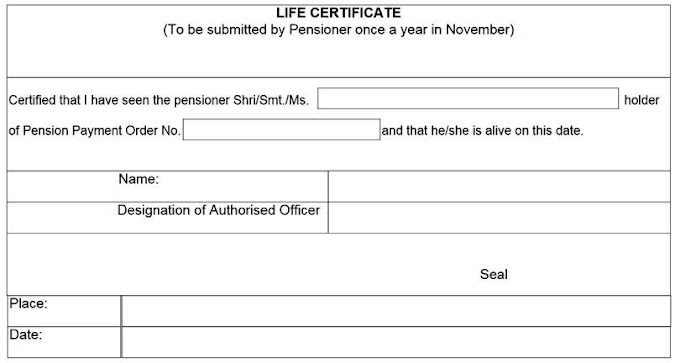Pensioners can submit life certificate in physical form or digitally in pension paying bank