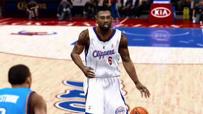 NBA 2K13 DeAndre Jordan New Hair Update