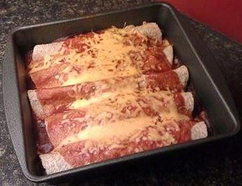 Low Fat Vegetarian Enchiladas