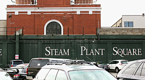 Steam Plant Square Spokane Washington