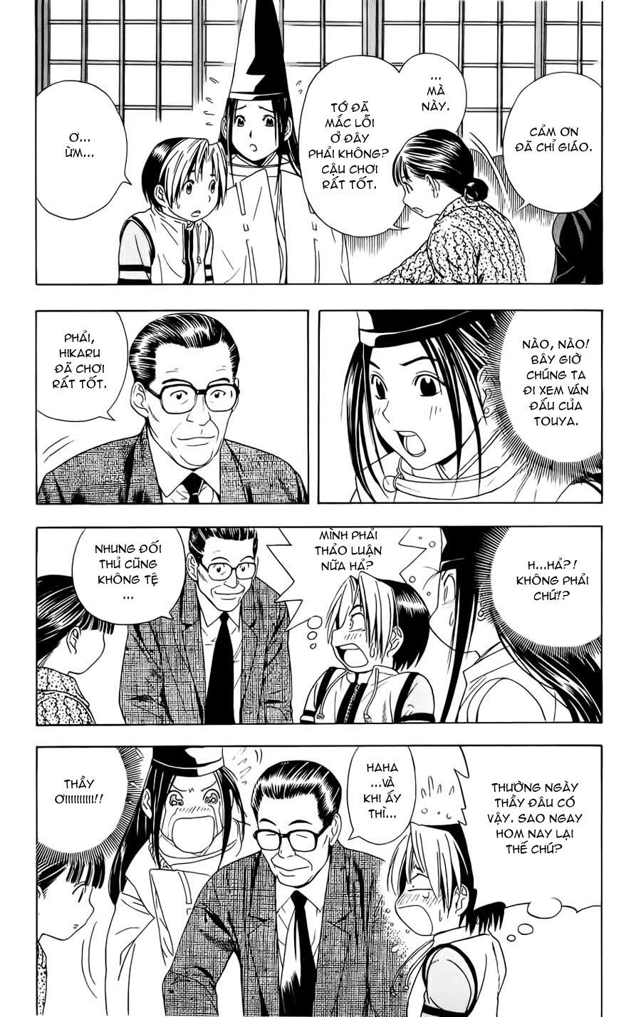 Hikaru No Go hikaru no go chap 48 trang 18