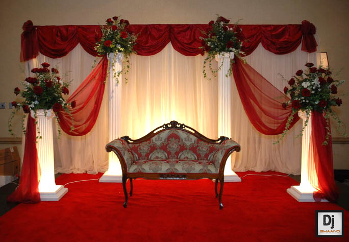 Church Banquet Tables And Chairs Barcelona Replica Best Wedding Function: Stage