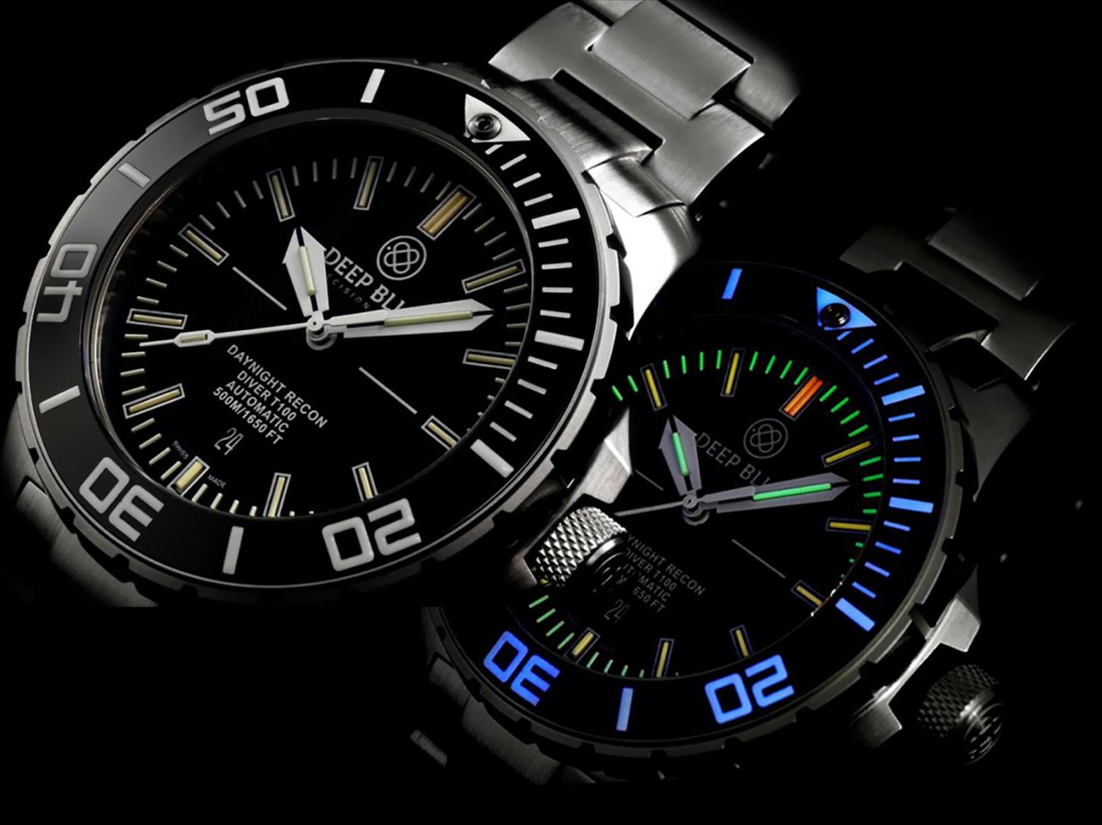 4b1f00232fe Estação Cronográfica  Pré-Basel 2014 - relógios Deep Blue Watches ...