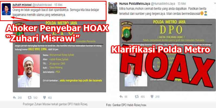 "Polisi Klarifikasi Foto DPO Habib Rizieq ""HOAX"", Penyebar Hoax Zuhairi Misrawi Dibully"